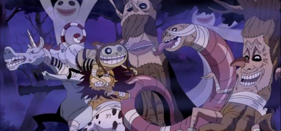 Habitants Thriller Bark One Piece