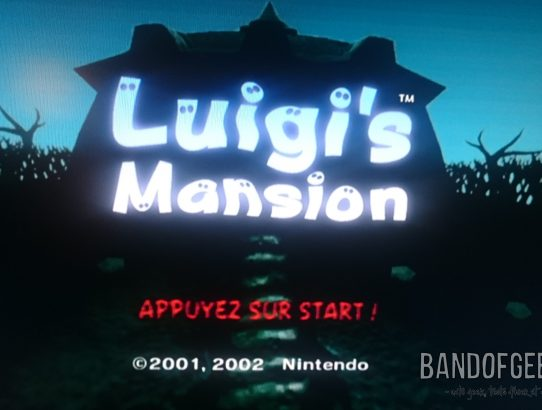Critique de Luigi's Mansion [GameCube]