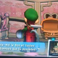 Journal Nostalgie Luigi's Mansion Luigi a capturé un Boo