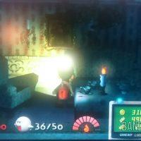 Journal Nostalgie Luigi's Mansion Luigi éclaire une salle avec sa torche