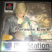 Parasite Eve II boite jeu PlayStation PAL platinum