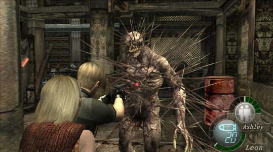 30 Day Video Game Challenge Resident Evil 4 Iron Maiden Leon Ashley Band of Geeks