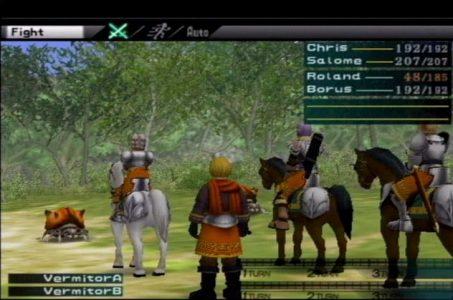 Suikoden III jeu vidéo PlayStation 2 combat