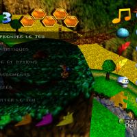 Banjo & Kazooie sur Xbox 360 menu pause avec récapitulatif