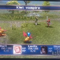Legend of Dragoon combat contre Kiwi vampire