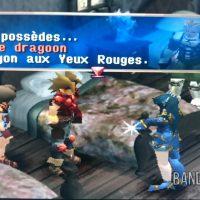 Legend of Dragoon Rose parle de l'âme du Dragoon aux Yeux Rouges de Dart