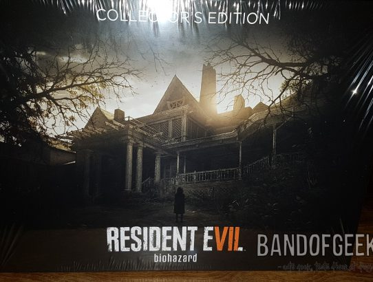 Unboxing du collector de Resident Evil 7