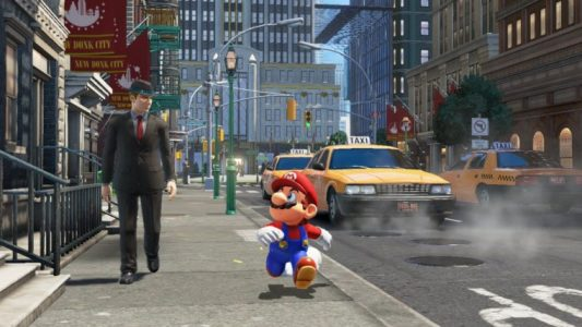 Super Mario Odyssey Mario se balade dans New York Switch