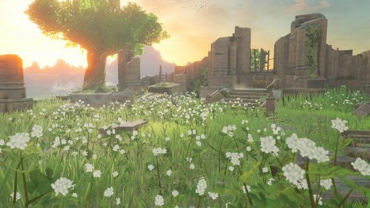 Breath of the Wild ruines d'un ancien sanctuaire