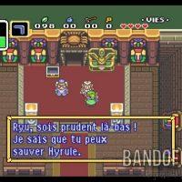A Link to the Past Link et Zelda se sont enfuit et Zelda confie une mission à Link