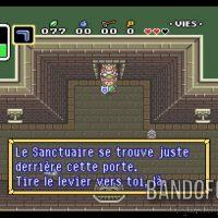 A Link to the Past Link et Zelda dans le passage des égouts
