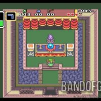 A Link to the Past Link est devant la voyante