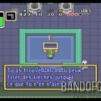 A Link to the Past Link trouve l'Arc dans un coffre