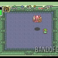 A Link to the Past le Boss du premier donjon saute sur Link