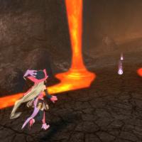 Tales of Berseria Magilou dans un volcan