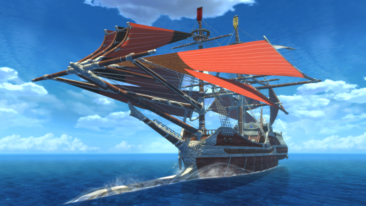 Tales of Berseria bateau de Velvet