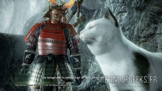 Nioh Chat montre william Nos jeux du moment 19 Band of Geeks