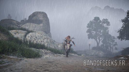 Horizon Zero Dawn Temps pluie Nos jeux du moment 19 Band of Geeks