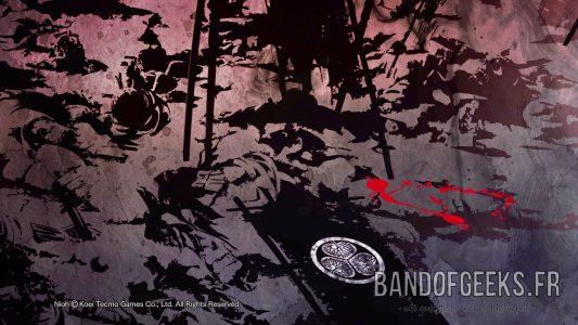 Embleme Hideyoshi Tokugawa sang dechire Nioh Critique Band of Geeks