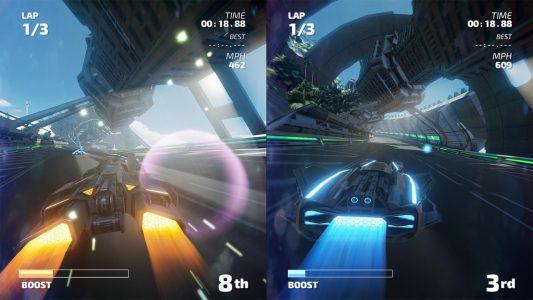 Fast RMX mode deux joueurs en écran splitté