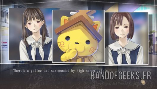 Shimanekko cute high school girls Root Letter Critique Band of Geeks