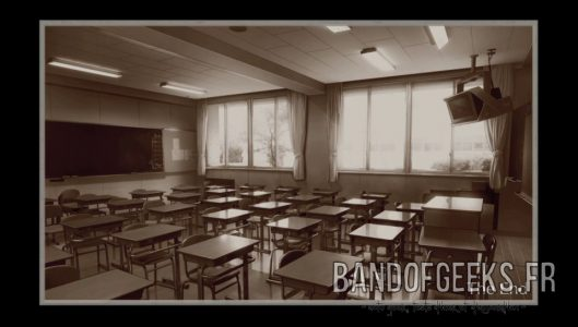 Cursed Letter classroom ending Root Letter Critique Band of Geeks