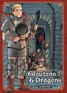 Gloutons et Dragons couverture française du tome 1