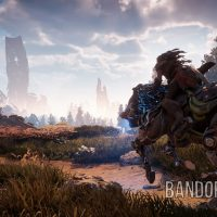 Aloy ruée cheval mécanique Horizon : Zero Dawn Band of Geeks