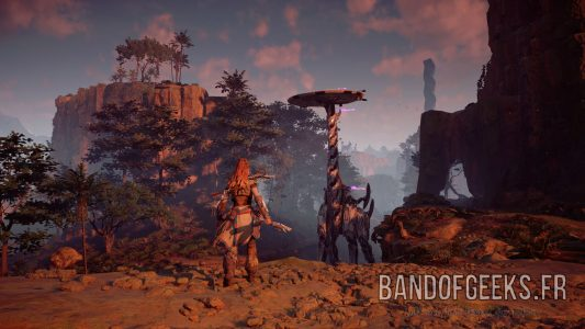 grand-cou Aloy Horizon : Zero Dawn Band of Geeks