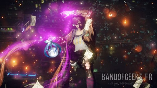 Faith inFAMOUS First Light PlayStation 4 Platinum trophy Band of Geeks