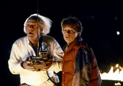 Retour vers le futur Marty et Doc
