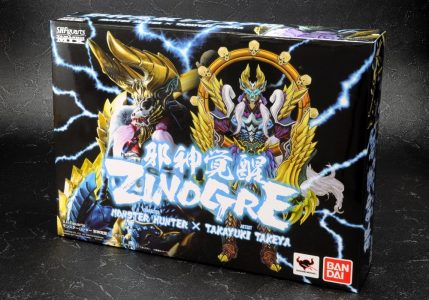 S.H.Figuarts Monster Hunter Zinogre Bandai Boîte Band of Geeks