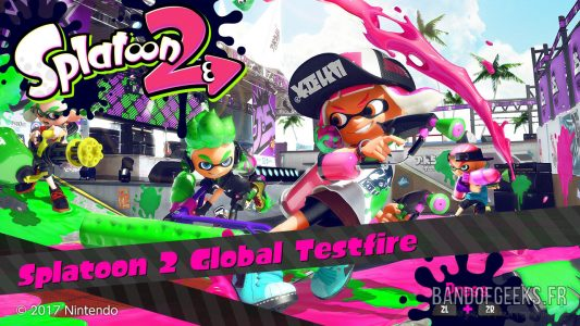 Splatoon 2 Global Testfire Ecran Titre