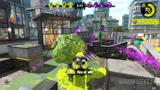 Splatoon 2 Global Testfire Jetpack