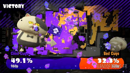 Splatoon 2 Global Testfire écran résultat