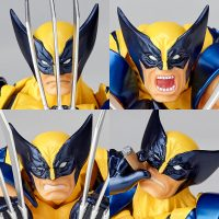 Wolverine visages cigare figurine Amazing Yamaguchi Band of Geeks