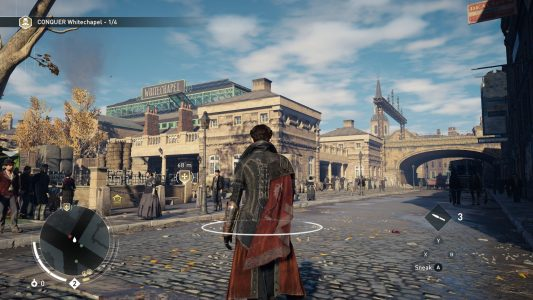 Assassin's Creed Syndicate Evie se balade en ville