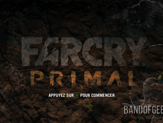 Far Cry Primal écran titre Xbox One