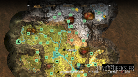 Far Cry Primal carte d'Oros