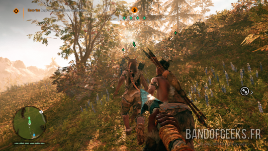 Far Cry Primal Takkar escorte des Wenja