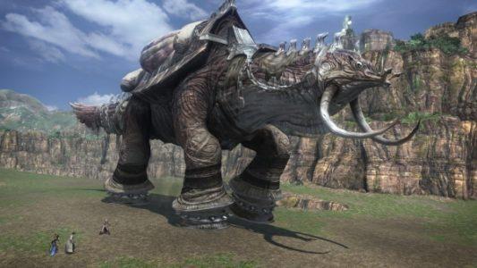 Final Fantasy XIII Adamankhelone sur la plaine