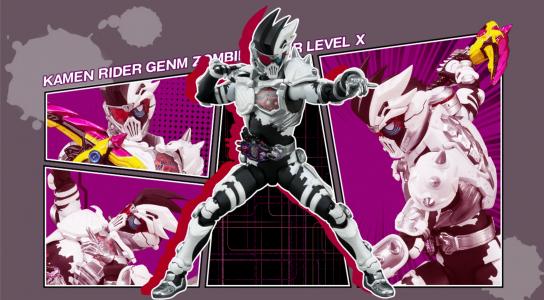 Premium Bandai S.H.Figuarts Kamen Rider Genm Zombie Gamer Level X Band of Geeks (1)