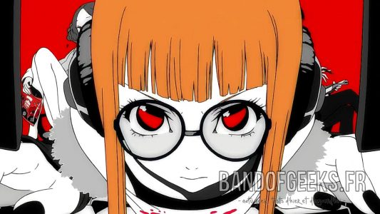 Futaba intro Persona 5 Band of Geeks