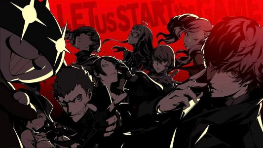 Persona 5 Let Us Start the Game Phantom Thieves Band of Geeks