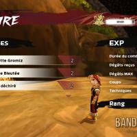 Shiness - The Lightning Kingdom écran de résultat de victoire d'un combat