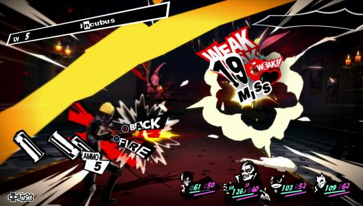 Ryuji attaque weak critical Persona 5 Band of Geeks