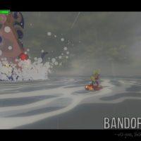 Wind Waker HD Link affronte un calamar géant à bord du Lion Rouge
