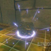 Wind Waker HD un coffre apparait devant Link car les deux torches sont allumées
