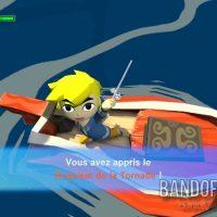 Wind Waker HD Link obtient le Requiem de la Tornade