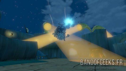 Wind Waker HD le fantôme de Ganon prépare une boule d'énergie
